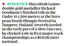 Goodman in European Youth Olympic Festival - corrected